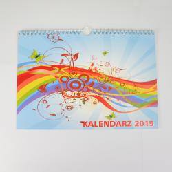 """Kalendarz z Twoimi zdjęciami / personalizowany """"Stefciu"""" A3"""