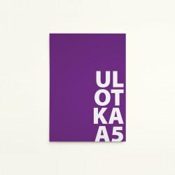 Ulotka A5 / 4+0  jednostronna / 100 szt