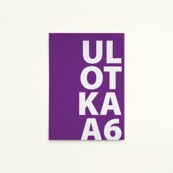 Ulotka A6 / 4+0 jednostronna / 100 szt