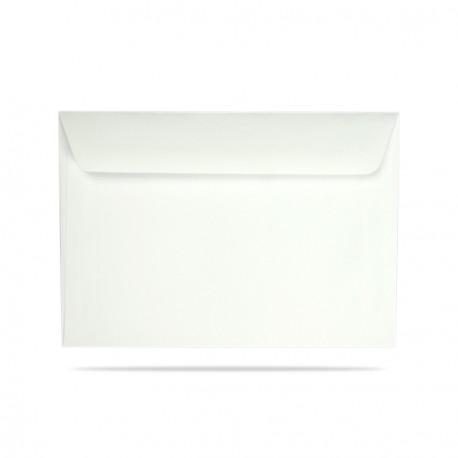 Koperta ozdobna C6 biała matowa
