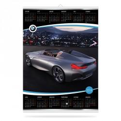 KALENDARZ PLANSZOWY - BMW - LISTWOWANY