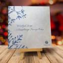 Firmowa kartka świąteczna z logiem DZIADEK MRÓZ