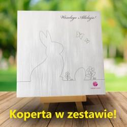 Kartka firmowa na Wielkanoc z logiem Domini 3 + Koperta w zestawie