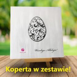Kartki firmowe na Wielkanoc z logiem Domini 5 + Koperta w zestawie