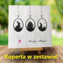Firmowa kartka na Wielkanoc Domini 2 + Koperta w zestawie