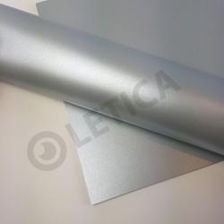Papier ozdobny Srebro A4 125g / 8 arkuszy w kpl.