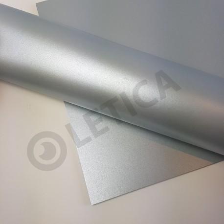 Papier ozdobny Srebro A3 125g / 4 arkusze w kpl.