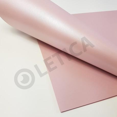 Papier ozdobny Różany A4 125g / 8 arkuszy w kpl.