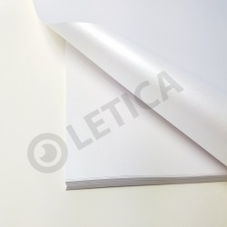 Papier ozdobny Biała Perła A3 125g / 4 arkusze w kpl.
