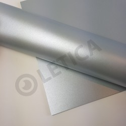 Papier ozdobny Srebro A4 230g / 8 arkuszy w kpl.