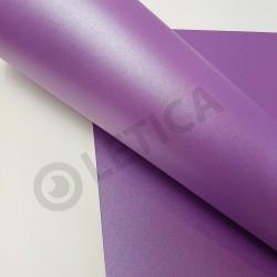 Papier ozdobny Śliwkowy Metalik A4 290g / 8 arkuszy w kpl.
