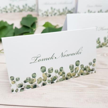 Winietki Zielone Liście