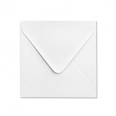 Koperta ozdobna 156x156 biała matowa