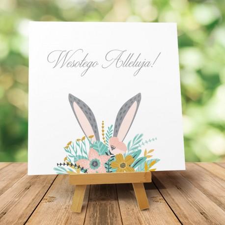 """Kartki wielkanocne """"Zajączek Wielkanocny"""" z kopertą"""