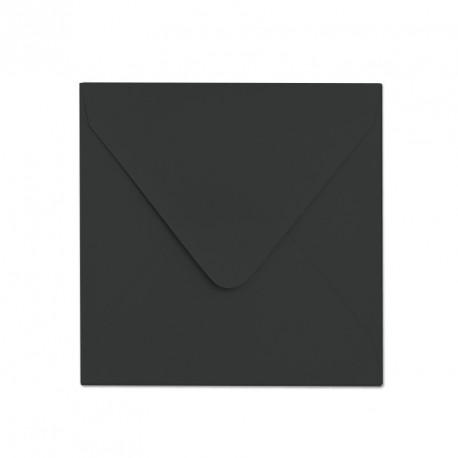 Koperta ozdobna matowa 155x155 elegancka czerń