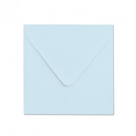 Koperta ozdobna 155x155 błękitna