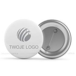 Produkty reklamowe badge z logo firmy