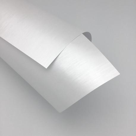 Papier ozdobny Srebrzysty A4 230g / 8 arkuszy w kpl.