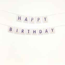 """Gotowy banerek urodzinowy """"Happy Birthday"""""""