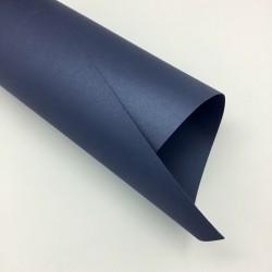 Perłowy papier ozdobny Granatowy Metalik A4