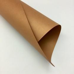 Papier dekoracyjny z perłowym połyskiem Złoty Brąz A3