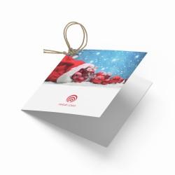 Zawieszki do prezentów na Boże Narodzenie WOREK PREZENTÓW