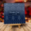 Kartka świąteczna firmowa z logo ŚWIĄTECZNY SWETER