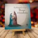 Religijne kartki bożonarodzeniowe z logo ŚWIĘTA RODZINA