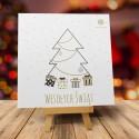 Kartki świąteczne bożonarodzeniowe z logo ŚWIĘTA W STYLU SKANDYNAWSKIM