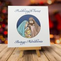 Religijne kartki bożonarodzeniowe z logo ŚWIĘTA NOC