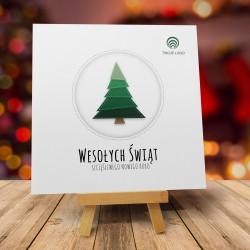 Kartki bożonarodzeniowe z logo WYSZYWANKA