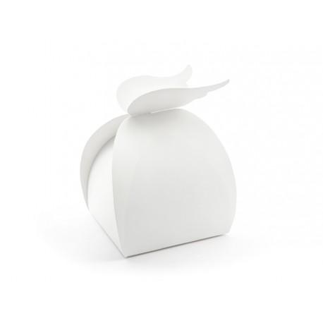Pudełeczka na upominki dla gości Aniołek ze skrzydłami