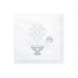 Serwetki na stół Srebrny kielich na Chrzest Święty