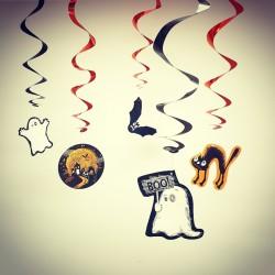 Wiszące dekoracje halloweenowe Zakręcone Halloween