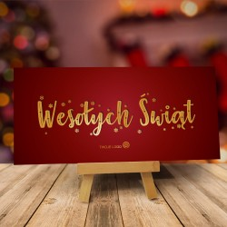 Kartka świąteczna Boże Narodzenie dla firm KOLORY ŚWIĄT