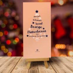 Kartki na Boże Narodzenie dla firm CHOINKOWE INSPIRACJE No. 3 Z GRANATEM