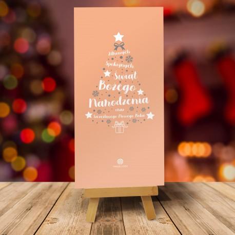 Kartki bożonarodzeniowe dla firm CHOINKOWE INSPIRACJE No. 2 BARWNE