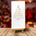 Kartka bożonarodzeniowa z logo CHOINKOWE INSPIRACJE No. 1 JASNE