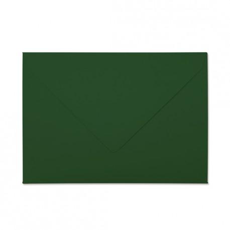 Koperta ozdobna C6 Zielona matowa