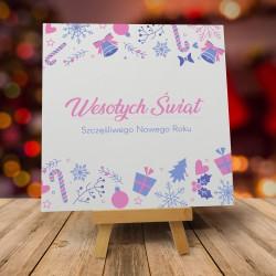 """Kartki bożonarodzeniowe z kopertami """"SŁODKIE ŚWIĘTA"""""""