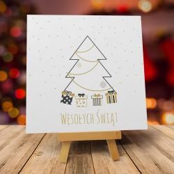 """Kartki świąteczne z kopertami """"ŚWIĘTA W STYLU SKANDYNAWSKIM"""""""