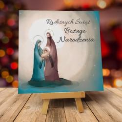 """Kartka na Boże Narodzenie z kopertą """"ŚWIĘTA RODZINA"""""""