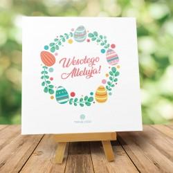 """Kartki wielkanocne z logo """"Wiosenne Alleluja"""""""
