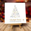 Kartki świąteczne biznesowe z logo Zaczarowana Choinka