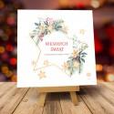 Kartki świąteczne biznesowe z logo Double Star