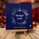 Kartki świąteczne biznesowe z logo Gris