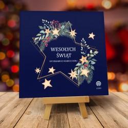 Kartki świąteczne biznesowe z logo Amaro