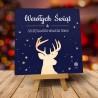 Kartki świąteczne biznesowe z logo Auri