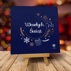 Kartki świąteczne biznesowe z logo Caro