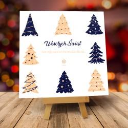 Kartki świąteczne biznesowe z logo Decora